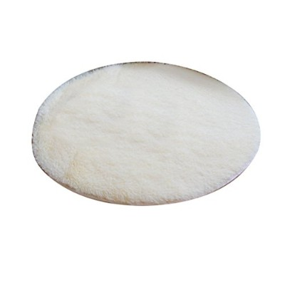 Zhhlaixing 高品質の Comfy Fluffy Anti-skid Shaggy Area Rugs Home Simple Round Soft Carpet HSY73