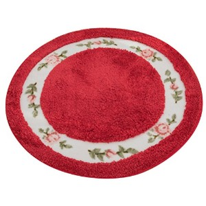 Zhhlaixing 高品質 Home Soft Non-slip Round Floor Rug Mat Pastoral Style Livingroom Bathroom Absorbent...