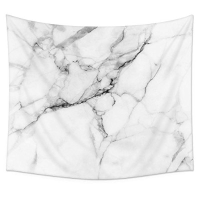 (130cm H x 150cm W) - Uphome Wild Symbol Marble Pattern Wall Tapestry Hanging - Light-weight...