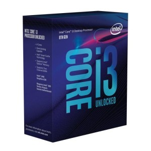 Intel Core i3 8350K (BX80684I38350K) Coffee Lake (4.00GHz/4Core/4Thread/リテールBOX) LGA1151