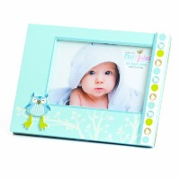 Nat and Jules Owl Frame, Blue by Nat and Jules
