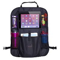 Mom's Besty??Luxury Car Back Seat Organizer with Tablet Holder - Touch Screen Pocket for Android &...
