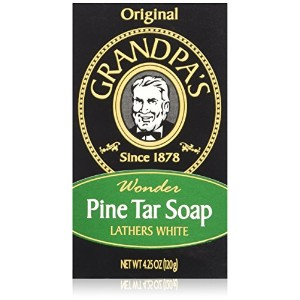Grandpa's Soap Pine Tar 4.25 Oz by Grandpa's