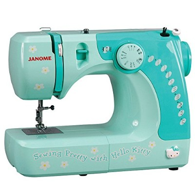 Janome 11706 3/4 Size Hello Kitty Sewing Machine [並行輸入品]