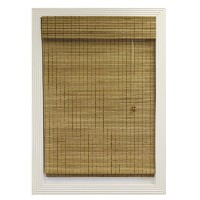 Calyx Interiors竹Roman Shade 28-Inch Width by 54-Inch Height ブラウン A04TBD280540