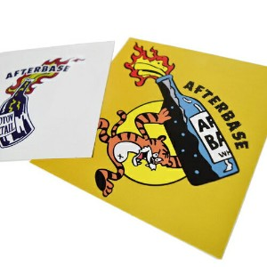 afterbase × COOK COLLABORATION STICKER