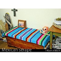 RUG&PIECE Mexican Serape made in mexcico ネイティブ メキシカン サラペ メキシコ製(rug-5722)