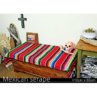 RUG&PIECE Mexican Serape made in mexcico ネイティブ メキシカン サラペ メキシコ製(rug-5711)