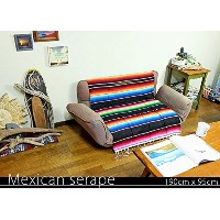 RUG&PIECE Mexican Serape made in mexcico ネイティブ メキシカン サラペ メキシコ製 190cm×95cm (rug-5823)