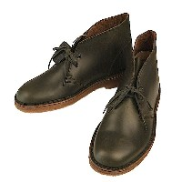 Clarks クラークス Desert Boot デザートブーツ Horween Forest Green Leather USモデル ホーウィン レザー クレープソール