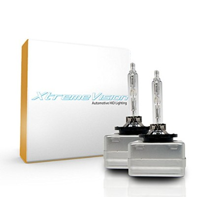 XtremeVision 2008-2012 Audi R8 (With ファクトリー HID) リプレイスメント HID Light Bulb 6000K- D1C / D1S / D1R ...