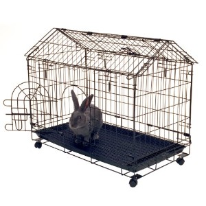 "Kennel-aire ""A"" Frame Bunny House, 29.5""L x 16.5""W x 24""H by Remington"