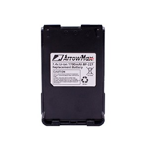 Maxtop aicl0227–1700-d bp-227/ bp-227lバッテリーforアイコムLandモバイルic-f50ic-f50V ic-f51ic-f51V ic-f60