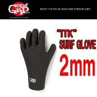 "SURFGRIP 日本正規品 ""ITK"" TZ RUBBER SURF GLOVE 2mm S"