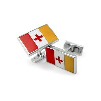 Kappa Alpha Order Fraternity Flag Cuff Links / Fraternityギフト