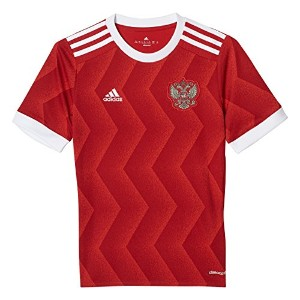 adidas YOUTH Russia Home Soccer Jersey 2017/サッカーユニフォーム ロシア ホーム用 ジュニア向け (Youth-X-Small-120)