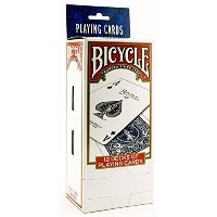 Bicycle Poker Size Standard Index Playing Cards, 12 Deck Player's Pack [並行輸入品]