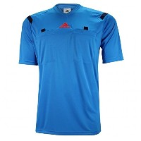 Adidas REFEREE 14 Short Sleeve Jersey -BLUE/サッカー レフリーシャツ REFEREE 14 (Small)
