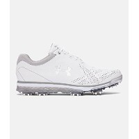Under Armour Tempo Tour Golf Shoes (アンダーアーマー テンポツアー /ジョーダン・スピース ゴルフシューズ)/ 3Colors (White / Silver,...