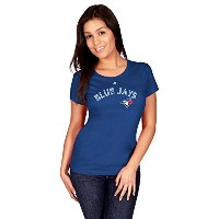 Troy Tulowitzkiトロントブルージェイズ# 2MLBレディースName & Number Player Tシャツ( Large )