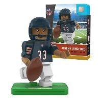 NFL Chicago Bears gen4 Limited Edition Jeremy Langford Mini Figure、スモール、ホワイト