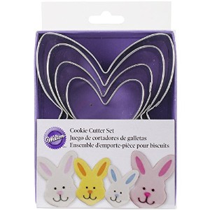 Metal Cookie Cutter Set 4pc-Nesting Bunny