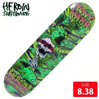 HEROIN ヘロイン デッキ KARR VICIOUS NATURE DECK 8.38 HRD-010 スケートボード SKATEBOARD