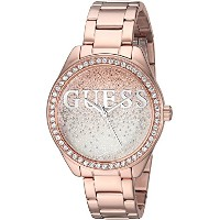 Guess Women 's QuartzステンレススチールCasual Watch , Color :ローズgold-toned (モデル: u0987l3 )