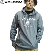 VOLCOM 撥水パーカー BR REPELLENCY PULLOVER g24518jb: GRY L