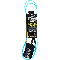 XM Tangle Free Ds Regular Leash 10' [Blue] by Surfmore XM