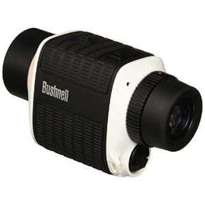 Bushnell Stableview Monocular with画像安定、8 x 25 mmホワイト