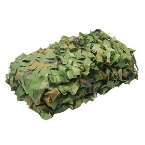 ninat森林迷彩ネッティングCamouflage Net for Camping Military Hunting Shooting Sunscreen Nets 3.25X 6.5ft、6.5...