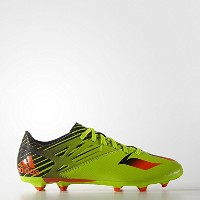 Adidas Messi 15.3 Firm/Artificial Ground Boots (Semi Solar Slime/Solar Red/Core) /サッカースパイク メッシ 15.3...