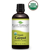 USDA Certified Organic Cajeput Essential Oil. 100 ml (3.3 oz). 100% Pure, Undiluted, Therapeutic...