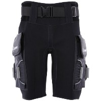 Apeks By Aqua Lung Tech Shorts withポケット ブラック