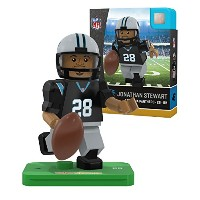 NFL Carolina Panthers gen4 Limited Editionジョナサン・Stewart Mini Figure、スモール、ホワイト