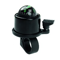 M-Wave Aluminum Compass Bicycle Bell, Black by M-Wave