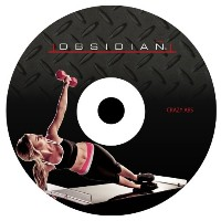 Obsidian Slide Board Crazy Abs DVD