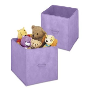 "14"" Collapsible Cubes Purple"