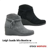 crocs【クロックス】Leigh Suede Mix Bootie Ws / レイ スエード ミックス ブーティ ※※