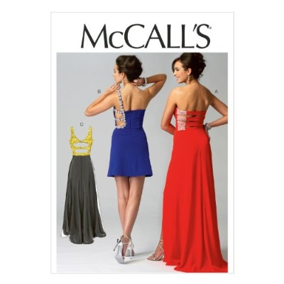 McCall Pattern Company M6894 Misses' Dresses Sewing Template, Size AX5 (4-6-8-10-12) by McCall...