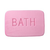 Zhhlinyuan 良質 ホーム Bathroom Anti-slide Absorbent Floor Mat 4 Colors Memory Cotton Carpet