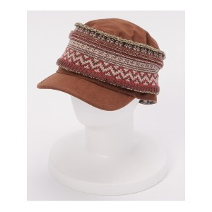 65%OFF grace (グレース) レディース 【ユニセックス】KNITTED HAIRBAND CAP BROWN F