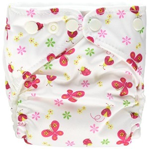 Charlie Banana? 2-in-1 Newborn Diapers - - Butterfly by Charlie Banana