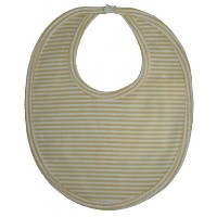 Kissy Kissy Baby Essentials Striped Bib-Yellow-One Size by Kissy Kissy