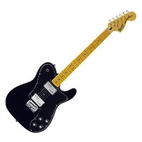 Squier Vintage Modified Telecaster Deluxe ソフトケース付き Black=506