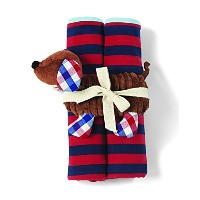 Mud Pie Blanket With Puppy Rattle by Mud Pie