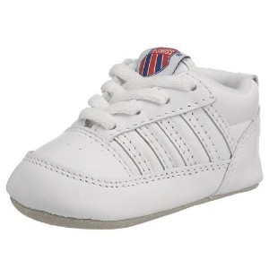 Swiss 2611 Crib 5ストライプShoe ( Infant ) by Swiss