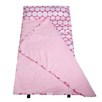 Wildkin Big Dot Pink and White Easy-Clean Nap Mat, One Size [並行輸入品]