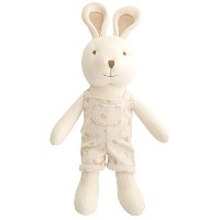 Organic Cotton Baby First Doll (No Dyeing Natural Organic Cotton) ... (Tommy the Bunny 19.6 inches)...